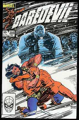 DAREDEVIL #206 Near Mint / Mint