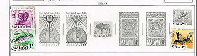 49 Malawi 1964-1984 stamps