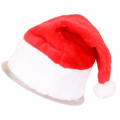 New Baby Kid Gift Party Christmas Decoration Hats Xmas Part Santa Claus Cap Hat