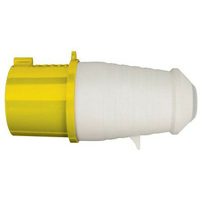 110V 32A Heavy Duty Industrial Plug - IP44 Rated