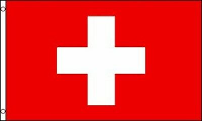 3x5 Switzerland Flag Swiss Polyester Flag 3' x 5' European