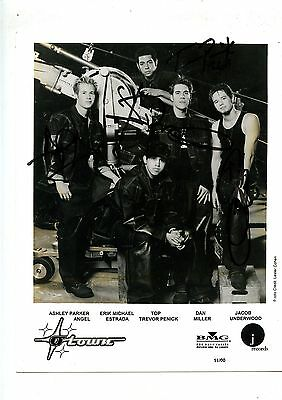 Autographed Promo 8 X 10 Photo O Town BMG Music 2000