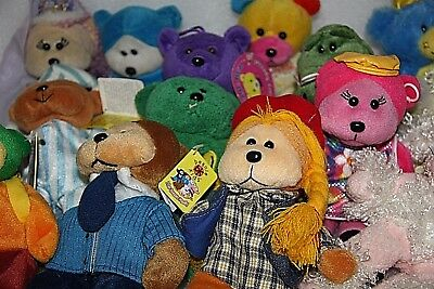 x 14 Beanie Kids Skansen bulk lot Beanie & other bulk lot of toys bulk bears