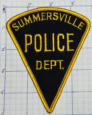 West Virginia, Summersville Police Dept Triangle Patch