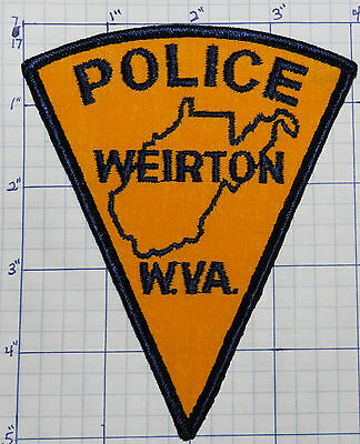 West Virginia, Weirton Police Dept Triangle Patch