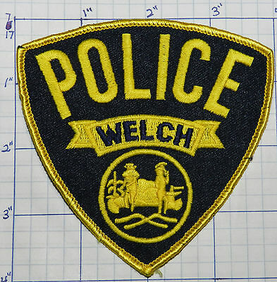 West Virginia, Welch Police Dept Patch