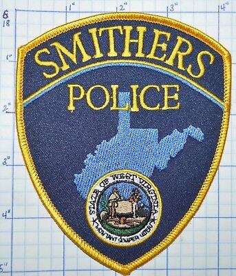West Virginia, Smithers Police Dept Patch