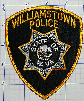 West Virginia, Williamtown Police Dept Patch