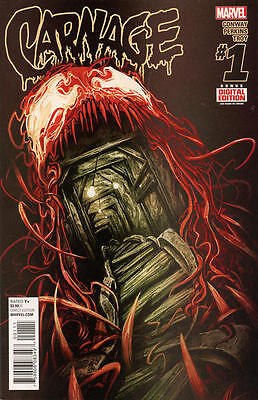 Carnage #1 (2016) Marvel Comics Spider-Man! Venom! Gerry Conway! Perkins Art Nm