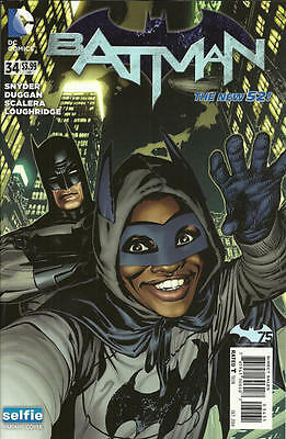 Batman #34 (2014) Dc 52 Comics Scott Snyder! Selfie Cover Variant! 1St Print! Nm