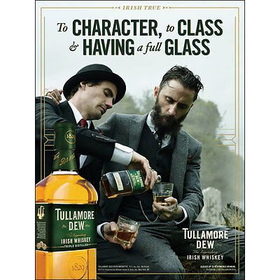 Tullamore dew poster. 18 by 27