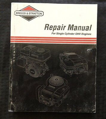 Briggs stratton l head single cylinder engine service shop briggs stratton single cylinder over head valve engine service repair manual fandeluxe Image collections