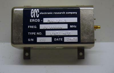 ERC CRYSTAL OSCILLATOR 10MHz, temperatur controlled, NOS, £££ REDUCED TO CLEAR £