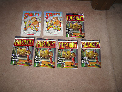 Lot of 8 Guided Reading Books Stanleys Christmas Adventure by Jeff Brown RL2 AR