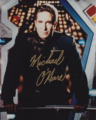 BABYLON 5 CMDR SINCLAIR MICHAEL O'HARE hand signed