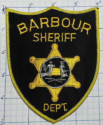 West Virginia, Barbour County Sheriff Dept Black & Gold Patch