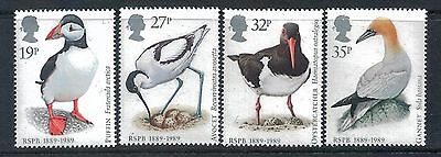 GREAT BRITAIN - 1989 Centenary Royal Society Protection of Birds Set of 4,  MNH