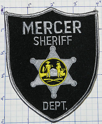 West Virginia, Mercer County Sheriff Dept Patch