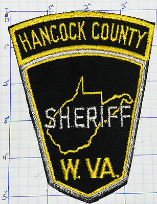 West Virginia, Hancock County Sheriff Dept Patch
