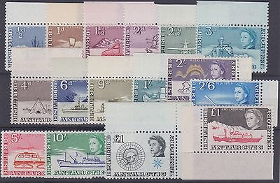 Brit. Antarctic Terr. 1963 SG1/15a Set of 16. Un Mint. Cat £275. PRICE £165.00