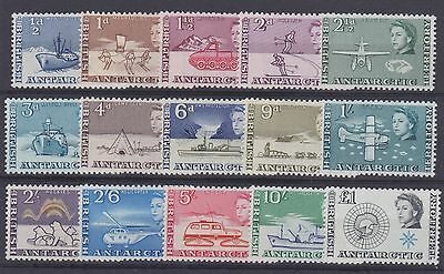 Brit. Antarctic Terr. 1963 SG1/15 Set of 15. LM/Mint. Cat £145. PRICE £75.00