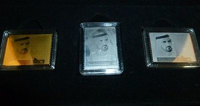 2006 UAE Special issue in silver, gold and platinum foil, see footnote Mi.842