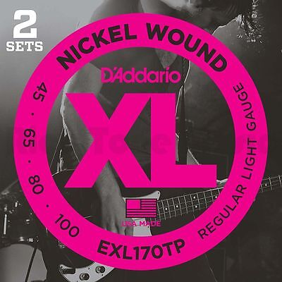 D'Addario EXL170-TP -Twin Pack 45-100
