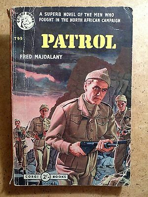 Fred Majdalany; Patrol. World War II Corgi Books 1955 1st Edition Paperback