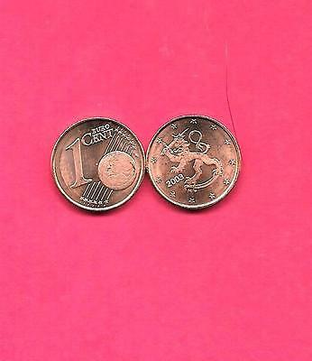 Finland Finnish Km98 2003 Unc-Uncirculated Mint Euro Cent Coin