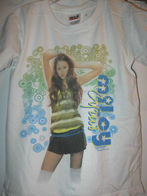 Preowned MILEY CYRUS 07-08 TOUR youth small SHIRT tshirt S girls boys cities