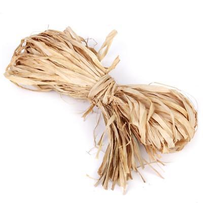 Vintage Natural Raffia for Crafts Supplies DIY Gift Wrapping Decoration 65cm