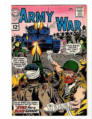 OUR ARMY AT WAR #113 VG (1st app. Wildman & Jackie Johnson) (1961) (B)