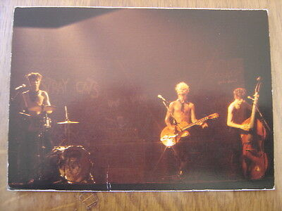 Carte postale Postcard STRAY CATS musicien MUSIQUE Rockabilly 12 x 17 cm