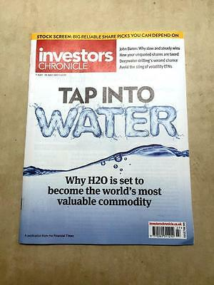 Investors Chronicle Vol201/2555 Tap Into Water  Deepwater Drilling 7-13July 2017