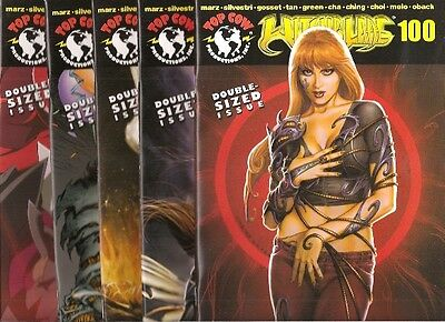 Witchblade 100 Nm Nm+ Variant Regs 5 Comics Books Image Lot Set High Grade 2006