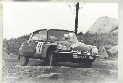 1968 ? Citroen DS in Portugal Radio Rally ORIGINAL Factory Photograph wy3238