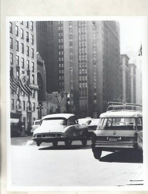 1968 ? Citroen DS in Traffic ORIGINAL Factory Photograph wy3213