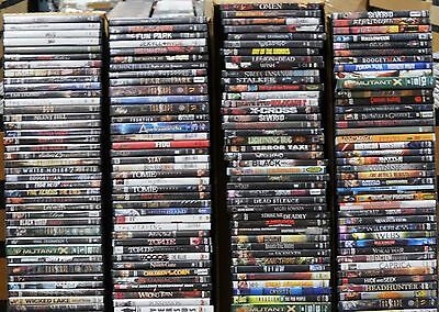 Wholesale Lot of 30 Used Assorted Bulk DVD Mostly Horror Sci Fi No Duplicate