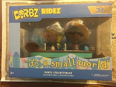 Funko Disney Treasures Exclusive It's a small world with Boat Tiny Town Dorbz