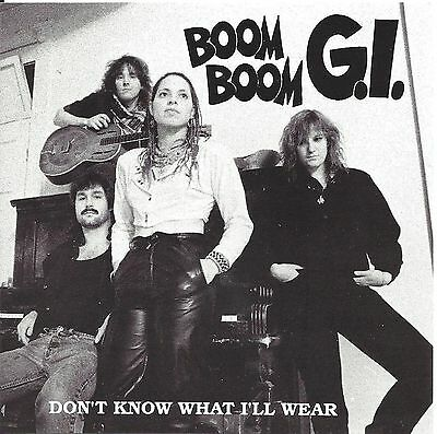 Boom Boom G.I. – Don't Know What I'll Wear  cd