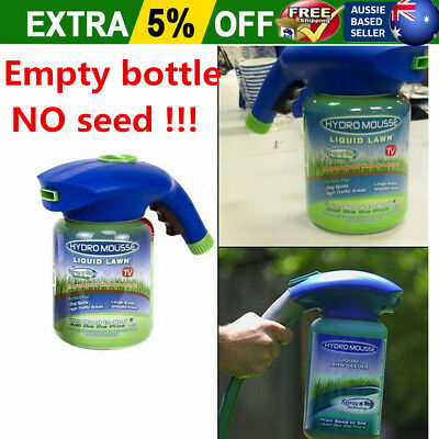 HydroMousse Household Hydro Seeding System Liquid Spray Device F Seed Lawn Care#