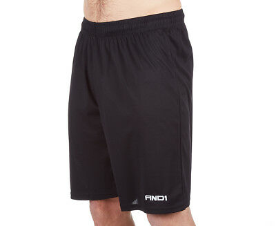 AND1 Men's No Sweat Basketball Short - Black