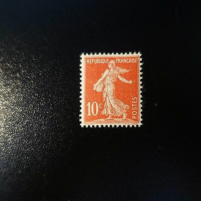 France Timbre Type Semeuse Avec Sol N°134 Neuf ** Luxe Gomme D'origine Mnh