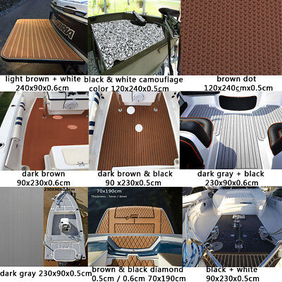 27 Type Marine Boat Flooring EVA Foam Yacht Teak Decking Sheet Carpet Floor Pad