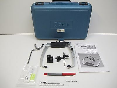 DENAR Whip Mix SLIDEMATIC FACEBOW AND TRANSFER JIG ASSEMBLY with ACCESSORIES