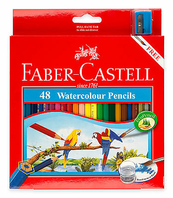48 FABER CASTELL Watercolour Pencils