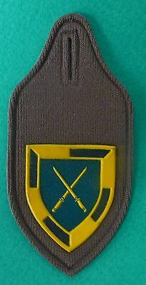 SOUTH AFRICA INFANTRY SCHOOL old VERY SCARCE officers tupperware BREAST  BADGE