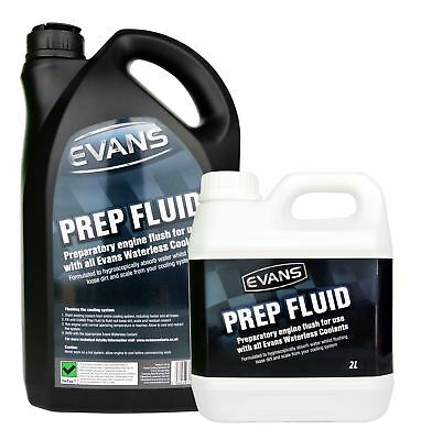 Evans Prep Fluid - Waterless Prep Fluid to be Used Before Evans Coolant