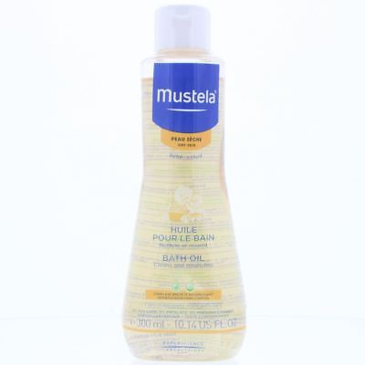 Mustela Baby Bath Oil 300ml Cleans And Nourishes - Dry Skin