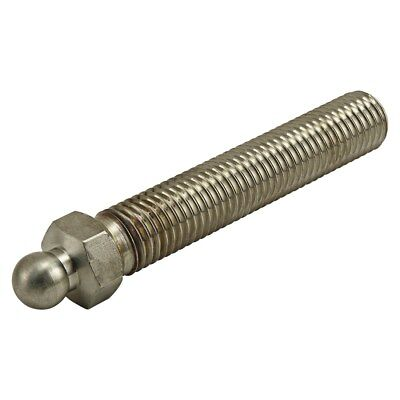 "80/20 Inc Stainless Steel 3/4-10 x 4"" Swivel Foot Threaded Stem Part #12231 N"